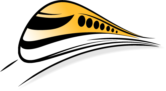 The Speed Train logo