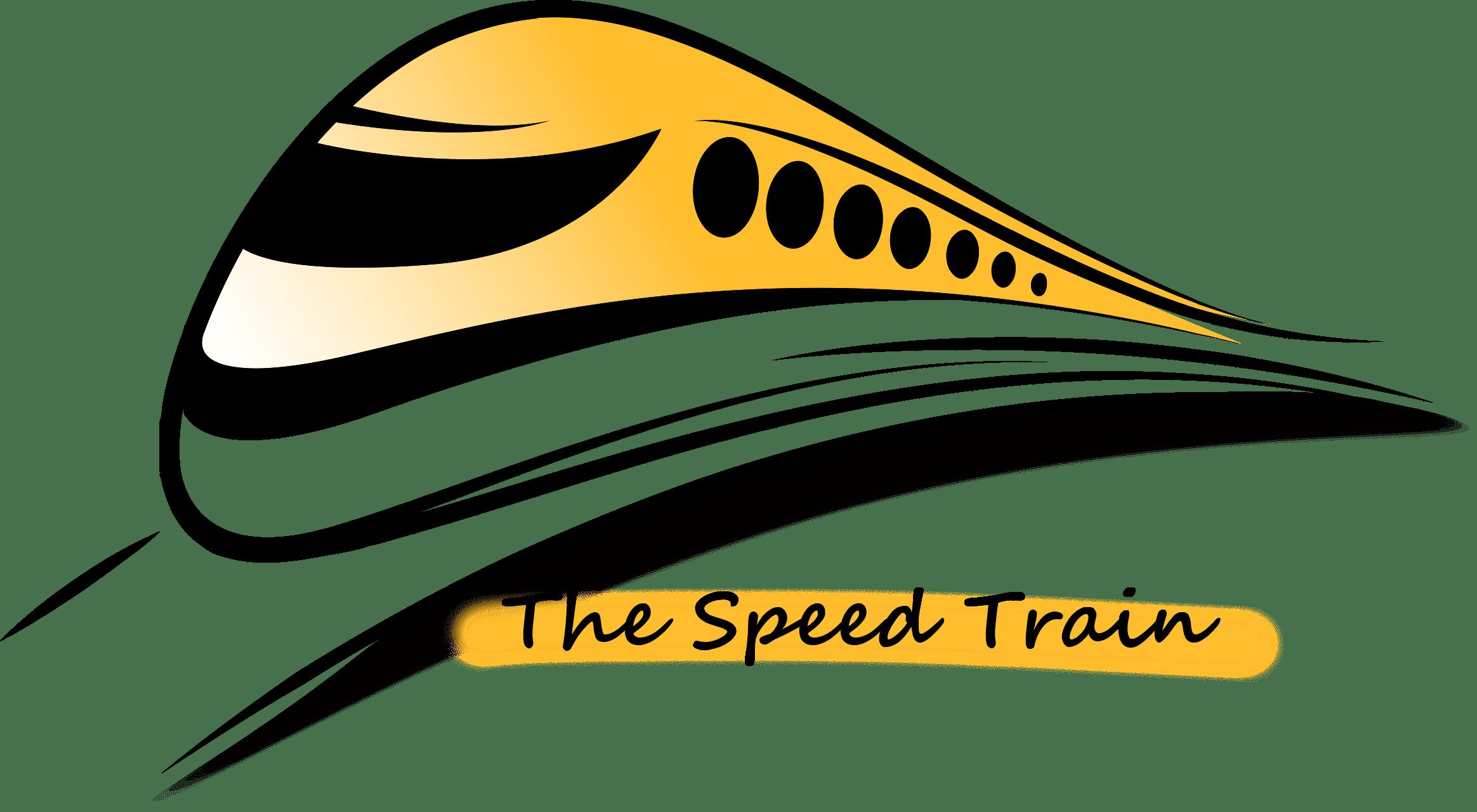 The Speed Train logo
